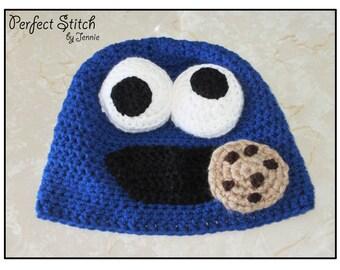 3-D Cookie Monster Hat