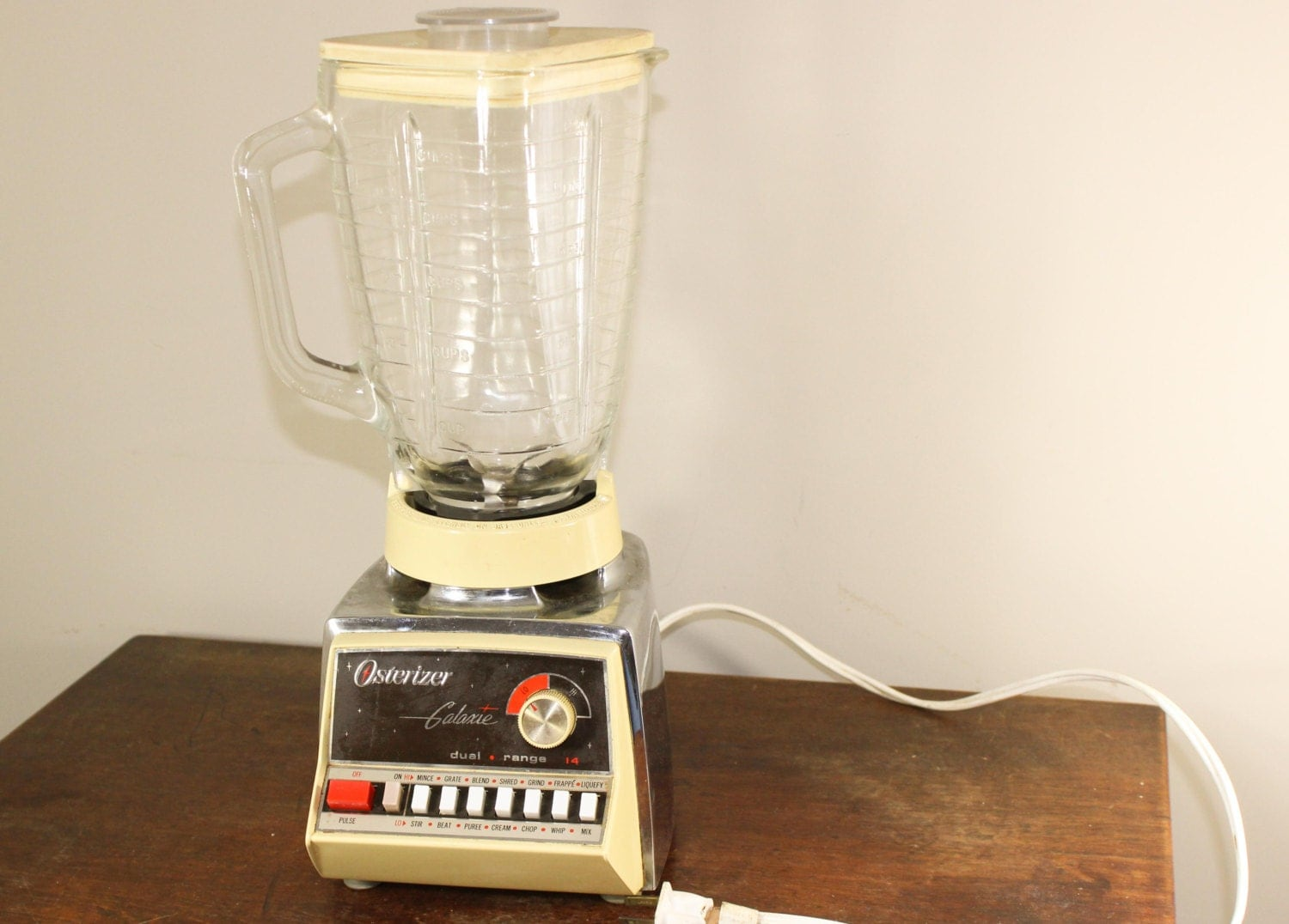 Vintage 1970s Blender Osterizer Galaxie Dual By