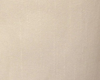 Beige-103 Silk Dupioni Shantung Fabric 100% Polyester for Apparel Home Decor By the Yard