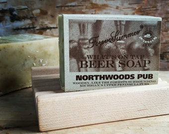 """Northwoods Pub """"What's On Tap"""" Beer Soap"""
