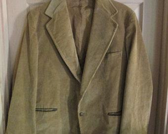 Men's Vintage Corduroy Blazer