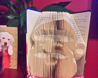 Santa  face   book folding pattern