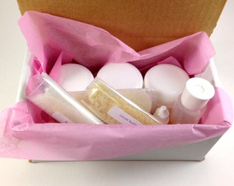 DIY Peppermint Foot Cream Kit, peppermint foot cream, foot lotion, craft kit, gift for her, mothers day, foot moisturizer, DIY foot cream