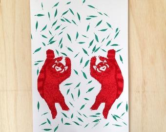 Dancing Red Pandas