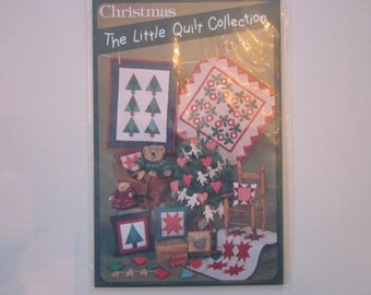 The Little Quilt collection Christmas, patterns, vintage, mini quilts