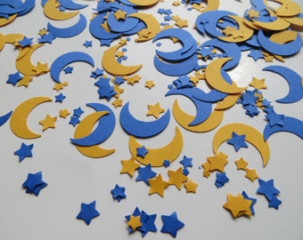 Moon & Stars Confetti - Set of 400