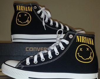 Nirvana Custom Chucks