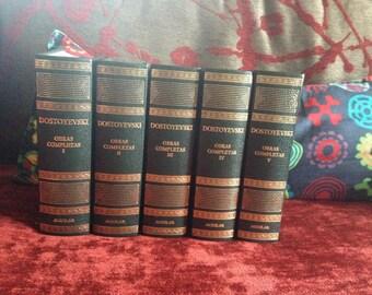 Complete works of Dostoyevsky. (5 volumes)