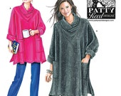 Reserved for Acog Simplicity Pattern, New & Unused, 2289 Sz XS S M L XL XXL Tunic Knit Shrug Coat Winter Womens Clothing Patty Reed Designs