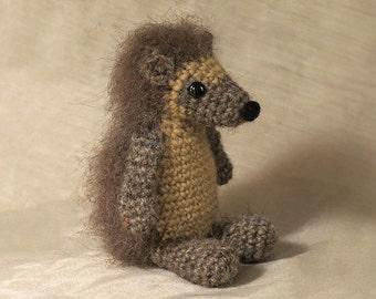 Crochet amigurumi hedgehog pattern