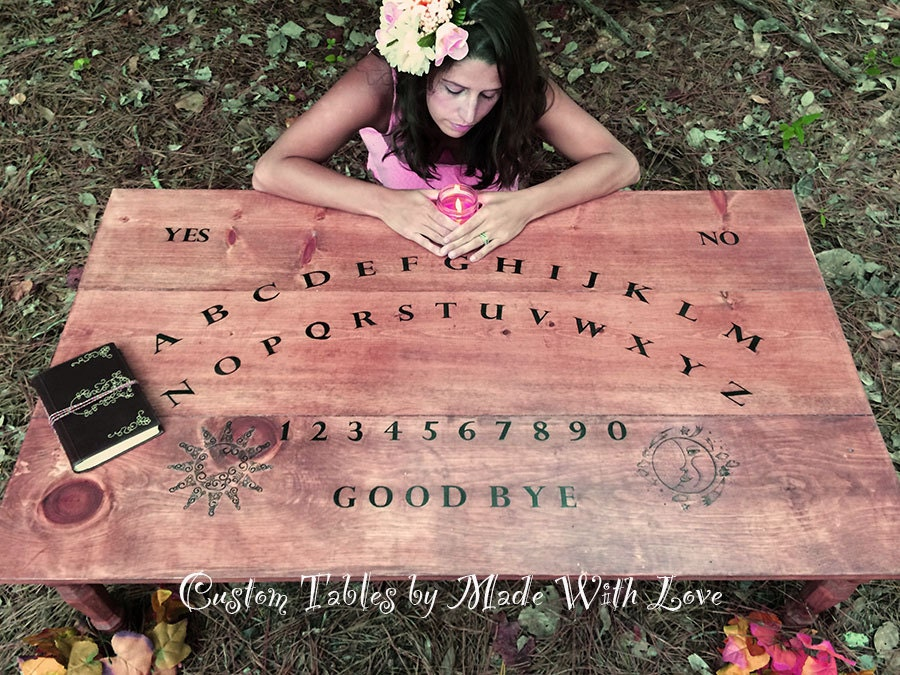 Custom Made Ouija Board Coffee Table A By