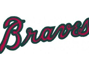 Atlanta Braves Embroidery
