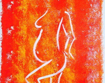 Untitled 40x50 cm original painting