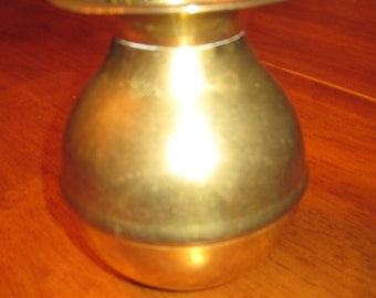 Brass vase vintage