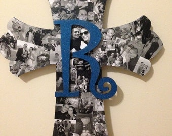Handmade wooden  crosses. cute and personal, custom made for each buyer.