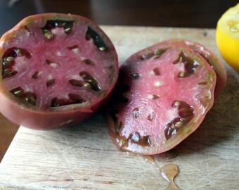 75+ Black Krim Tomato Seeds- Heirloom Variety
