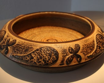 Rustic very large bowl from soholm ceramic bornholm for A perfect 10 nail salon rapid city