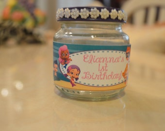 Baby Food Jar Party Favor