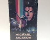 Vintage Michael Jackson Moonwalker VHS video cassette tape 80s
