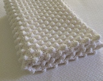 Baby Bobble Blanket or Lap Throw