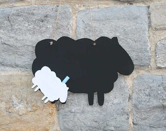 Sheep Chalk Blackboard, ideal for messages in the kitchen !