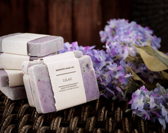 Lilac Soap - Natural Vegan Cold Process Soap