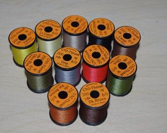 UNI 6/0 Fly Tying or Craft Thread 200 yard Spools