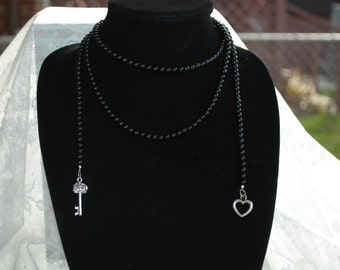 Key to my Heart Lariat Necklace