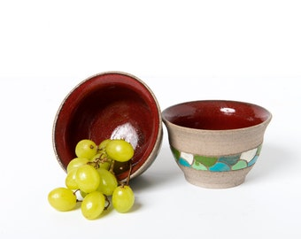 Small ceramic serving bowl