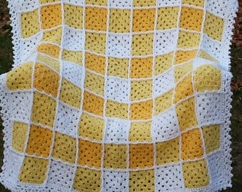 Gingham Throw (Girls Colors)