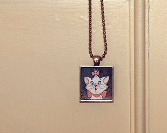 Disney's Aristocats Marie necklace