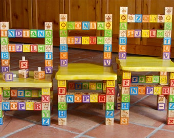 Items Similar To Typographic Quot K Quot Chair On Etsy