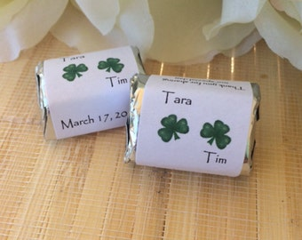 Wedding Gift Bags Ireland : Irish Wedding Favors, Irish Wedding Gift, four leaf clover, irish ...