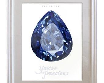 Birthstone Sapphire: September