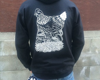 Petaluma Beer Chicken Sweatshirt