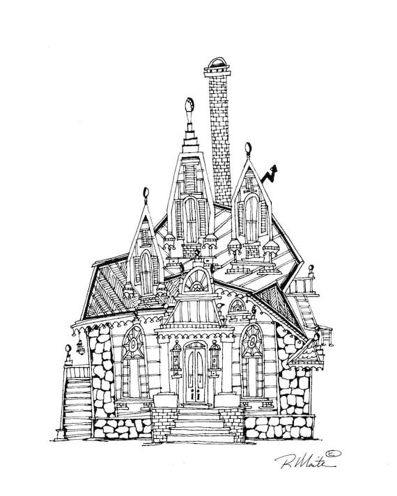maison de style sur re victorienne de san francisco d but du. Black Bedroom Furniture Sets. Home Design Ideas