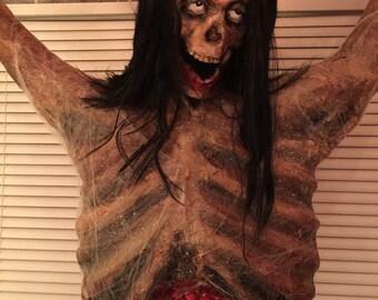 Hanging corpse prop.....custom made piece OOAK