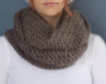 Infinity Crochet Scarf - 100% Acrylic