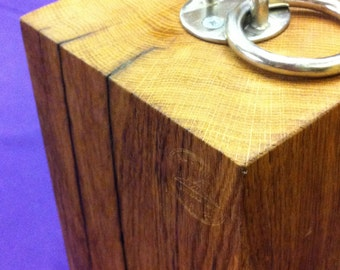 Rustic Oak Doorstop