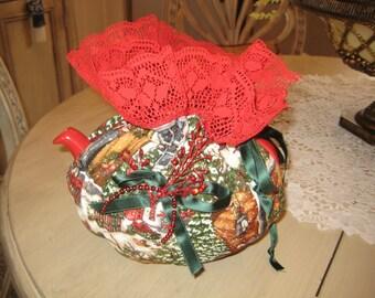 ChristmasTea Cozy H027