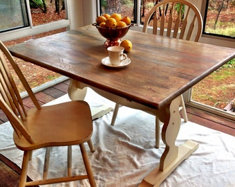 SOLD! -- Farm table and chairs