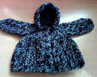 Crochet baby sweater boy or girl
