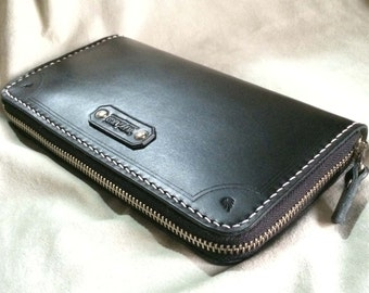 LONG WALLET (Black Leather)