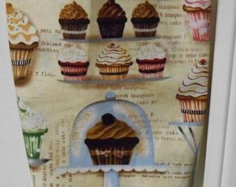 Plastic Grocery Bag Holder #260 Cupcakes Plastic Bag Holder