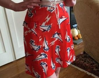 Vintage Pawtucket Sportswear skort, size 8