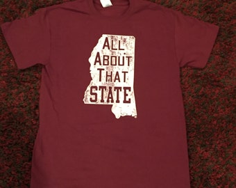 ORIGINAL All About That State TShirt