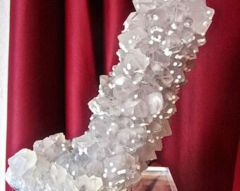 STALAGMITE of QUARTZ / calcite