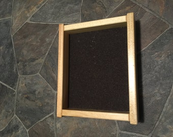 cork lined dice tray