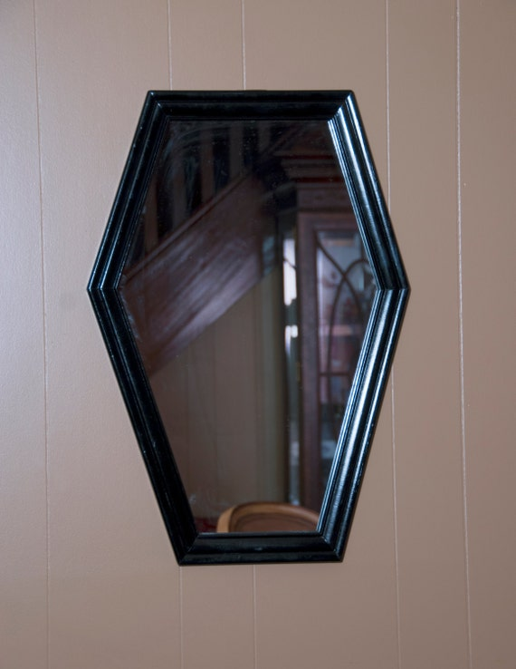 Coffin Shaped Mirror