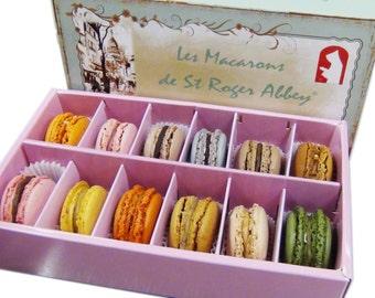 Organic Paris Montmartre Macaron Assortment, Handcrafted with le French Savoir-Faire
